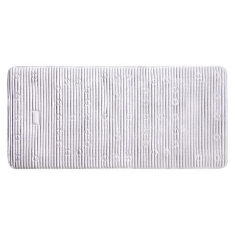 Rubbermaid Cushioned Bath Mat 17X36 White Target