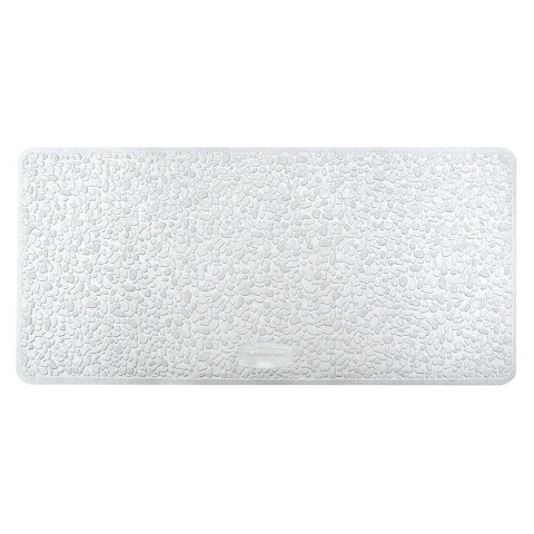 Rubbermaid Spa Pebbles Bath Mat White Target