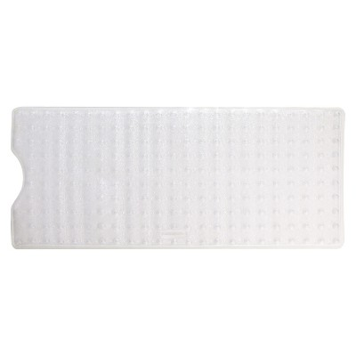 Rubbermaid Vinyl Bath Mat - Clear