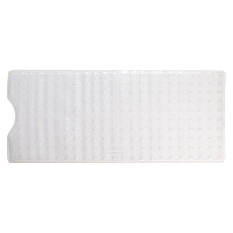 Rubbermaid Vinyl Bath Mat Clear Target