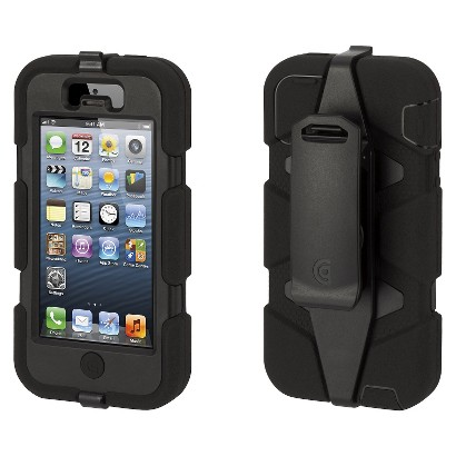 Survivor Cell Phone Case for iPhone5 - Black (GB35677)