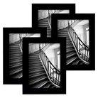"Flat Top Frame 4-Pack Black 8""x10""- Room Essentials™"