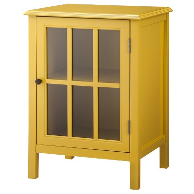 Windham One Door Storage Cabinet - Yellow - Threshold