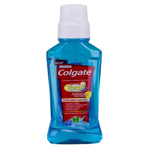 Colgate Total Advanced Pro-Shield Peppermint Blast Mouthwash 8.4mL