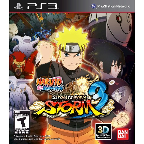 Naruto Shippuden Ultimate Ninja Storm 3 (PlayStation 3)