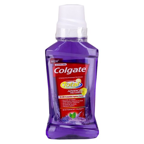 Colgate Total Advanced Pro-Shield Wintermint Rush Mouthwash 250mL