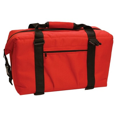 Red NorChill 24 Can Soft Side Cooler