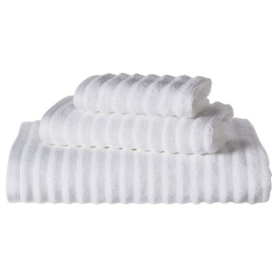 Threshold™ Textured 3-pc. Towel Set - True White
