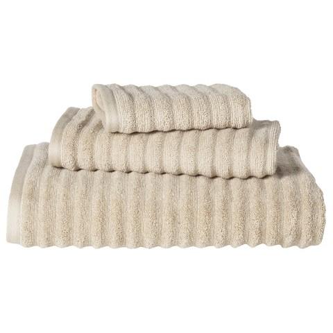 Threshold™ Textured 3-pc. Bath Towel Set