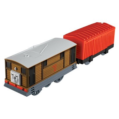 Fisher-Price Thomas & Friends TrackMaster Talking Toby - Motorized Engine