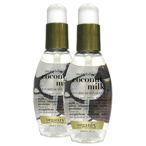 OGX Coconut Milk Anti-Breakage Serum 4 oz.