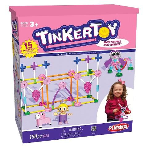 K'NEX Tinkertoy Pink Building Set
