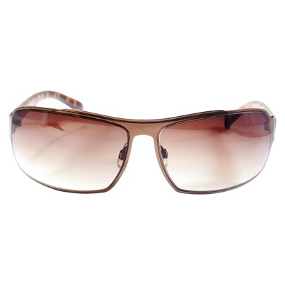 Mossimo® Rectangle Sunglasses - Silver Frame