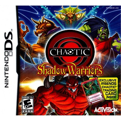Chaotic Shadow Warriors with Trading Card PRE-OWNED (Nintendo DS)