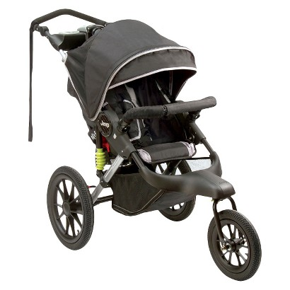 Jeep Adventure Jogging Stroller - Jet Black