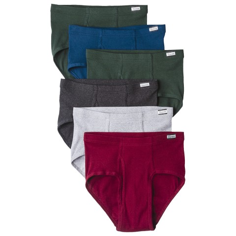 Hanes® Men's 6pk Comfort Soft Waistband Mid-Rise Briefs - Assorted Colors
