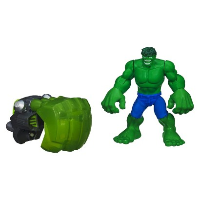 Playskool Heroes Marvel Hulk Adventures Fist-Launching Hulk Figure