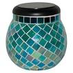 Glass Mosaic Solar T-light