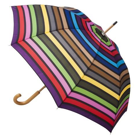 totes Basic Stick Umbrella - Multicolor Stripe