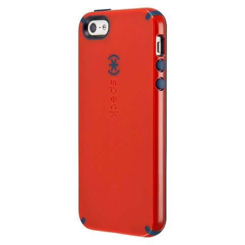 Speck CandyShell Case for iPhone® 5 - Poppy Red/Deep Sea Blue