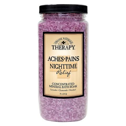 Village Naturals Therapy™ Restless Nights Relief Mineral Bath Soak - 20 oz
