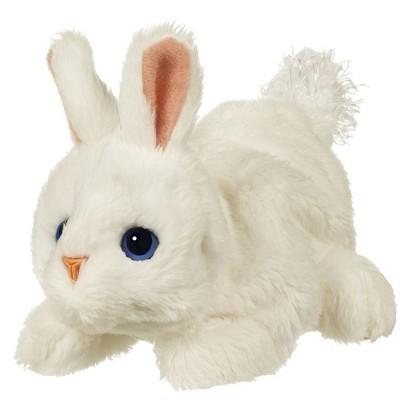 Furreal Friends Snuggimals Snug-A-Button Bunny - White