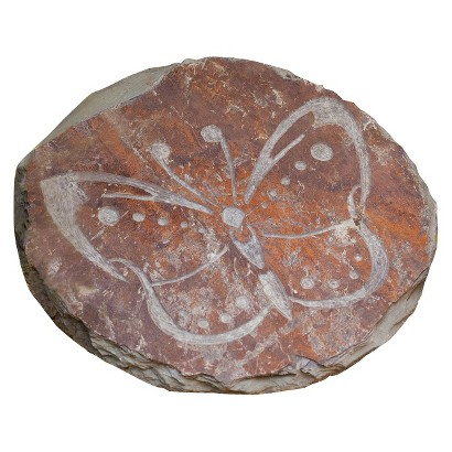 Butterfly Slate Garden Stone