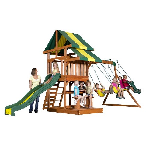 Backyard Discovery Independence All Cedar Wooden Playset