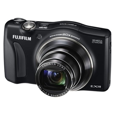 Fujifilm FinePix F850EXR 16MP Digital Camera with 20x Optical Zoom