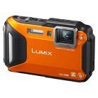 Panasonic LUMIX DMC-TS5 16.1MP Digital Camera with 4.6x Optical Zoom - Orange