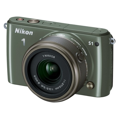 Nikon 1 S1 10.1MP Digital Camera with 11-27.5mm Lens