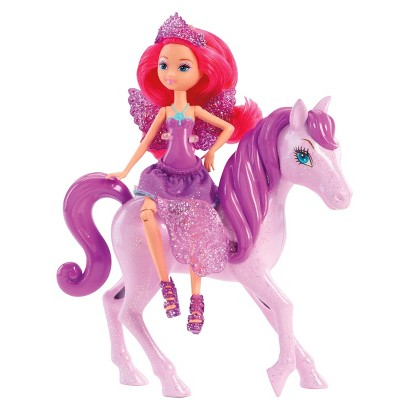 Barbie Mariposa and the Fairy Princess Shimmer Sprite Doll - Purple