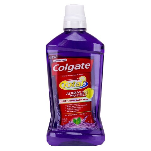 Colgate Total Advanced Pro-Shield Wintermint Rush Mouthwash 1L