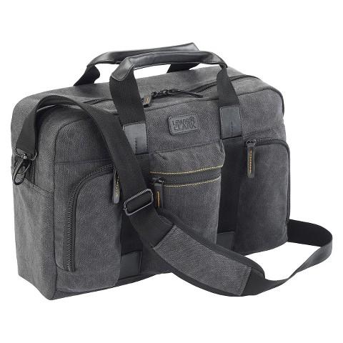Lewis N. Clark Urban Gear Briefcase Travel Bag - Grey