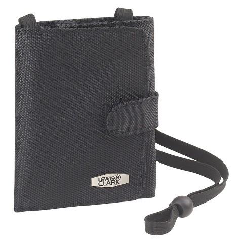 Lewis N. Clark RFID Folding Document Organizer - Black