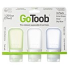 Humangear GoToob 3pk Small Travel Containers