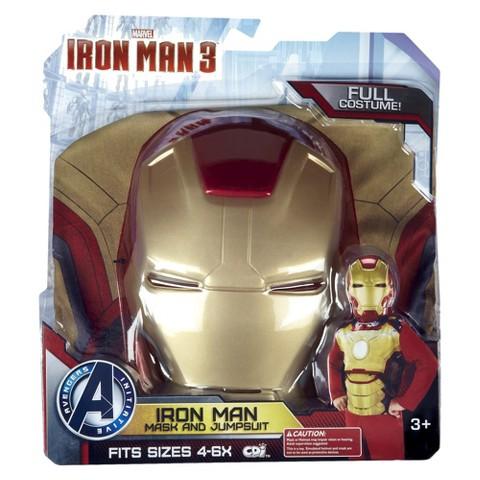 Iron Man 3 Mark 42 Full Dress Up Set