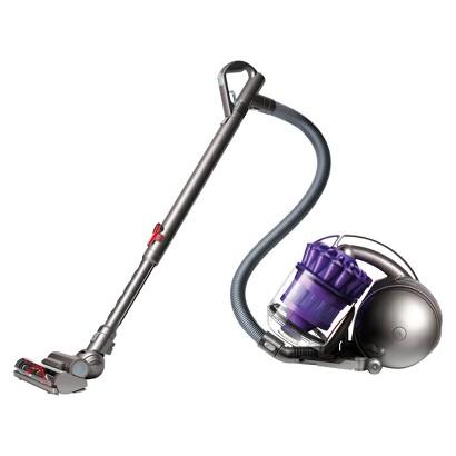 Dyson DC39 Animal Canister Vacuum w/Tangle Free Turbine Tool - Iron/Purple