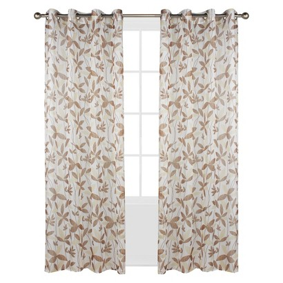 Outdoor Decor™ Floral Garden Indoor/Outdoor Window Sheer