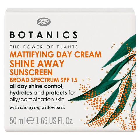 Boots Botanics Shine Away Mattifying Day Cream SPF15 - 1.69 oz