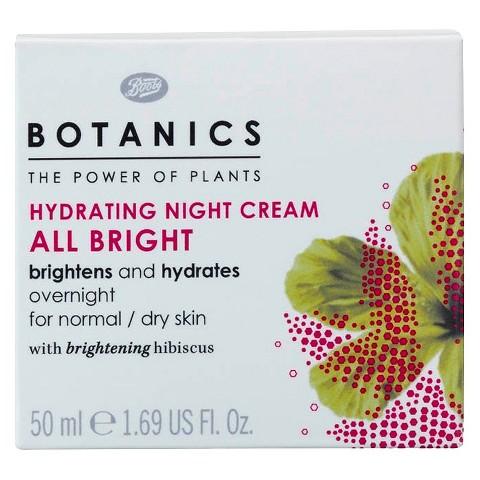 Botanics All Bright Hydrating Night Cream - 1.69 oz