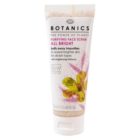 Boots Botanics All Bright Purifying Face Scrub - 2.5 oz