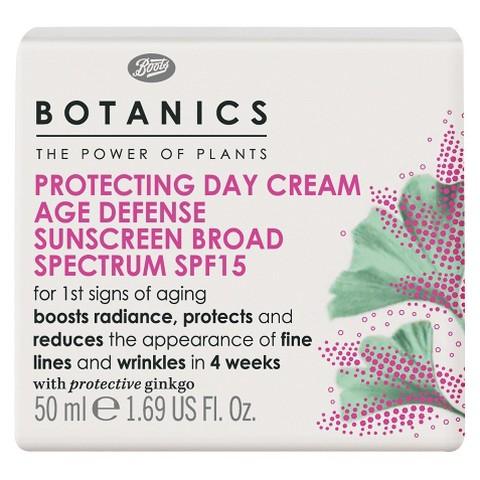 Boots Botanics Age Defense Protecting Day Cream SPF15 - 1.69 oz