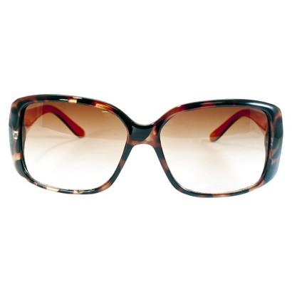 Tortoise Large Rectangle Sunglasses - Orange