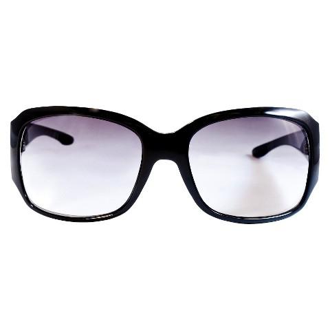 Large Square Sunglasses - Black