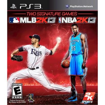 MLB 2K13/NBA 2K13 (PlayStation 3)