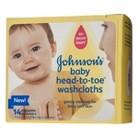 Johnson's Baby Head to Toe Washcloths