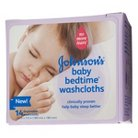Johnson & Johnson's Baby Bedtime Washcloths - 14 Count