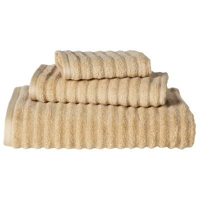 Threshold™ Textured 3-pc. Towel Set - Basic Tan