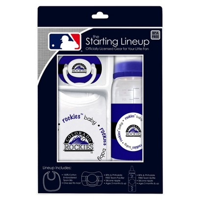 Colorado Rockies Team Color Gift Set